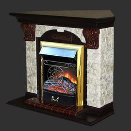 Камин ГЛЕНРИЧ (Glenrich) Арочный угловой венге