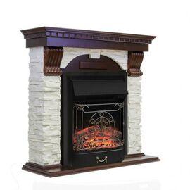Камин Royal Flame Dublin с Majestic FX BL сланец белый/темный дуб