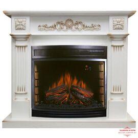 Камин Royal Flame Florina с Dioramic 28 LED FX белый дуб с патиной