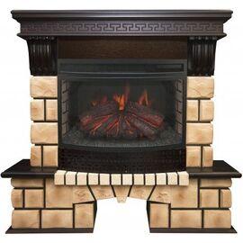 Камин RealFlame Stone Brick 25 AO с Firefield 25 S IR