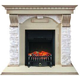 Камин Royal Flame Dublin с Fobos FX BL сланец крем/слоновая кость
