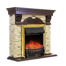 Камин Royal Flame Dublin с Fobos FX BR арочный сланец темный дуб