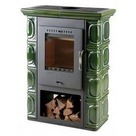 Печь THORMA Borgholm Keramik оливково-зеленая