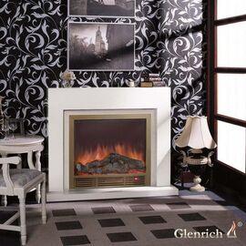 Камин ГЛЕНРИЧ (Glenrich) Астория Deluxe 39 белый дуб