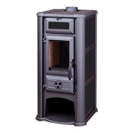 Печь Tim Sistem Lederata черная