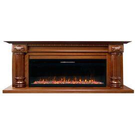 Портал Royal Flame Edinburg 60 под Vision 60 LED темный орех