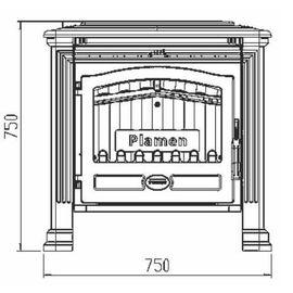 Печь Plamen TENA termo