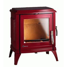 Печь-камин Invicta SEDAN M красная эмаль NEW