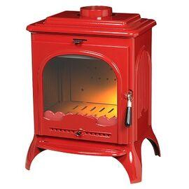 Печь-камин Invicta SEVILLE эмаль красный NEW
