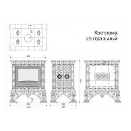 Облицовка камина КимрПечь Кострома Центральный
