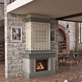 Камин Ceramica Арт Нуво
