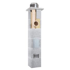 Дымоход керамический Skorsten Plus д.160 мм, 4 м
