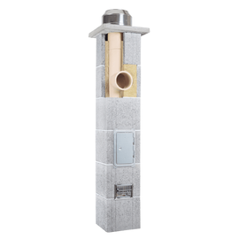 Дымоход керамический Skorsten Plus д.180 мм, 4 м