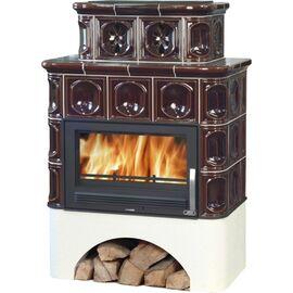 Печь ABX KARELIE коричневый, с теплообменником