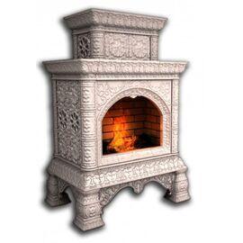 Печь-камин КимрПечъ Кострома Декоративный Пристенный Двухъярусный