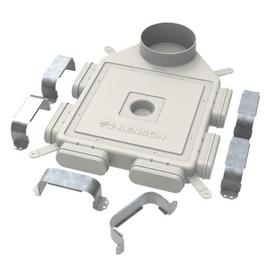 Комплект вентиляции Vilpe 190 серый
