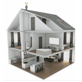 Комплект вентиляции Тихая кухня SAVO IH-68 90 cm inox