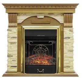 Камин Royal Flame Dublin с Majestic FX BR арочный сланец дуб