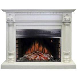 Камин Royal Flame Edinburg с Dioramic 33 LED FX слоновая кость с патиной