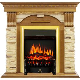 Камин Royal Flame Dublin с Fobos FX BR арочный сланец дуб