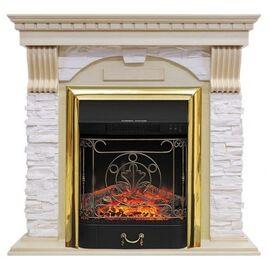 Камин Royal Flame Dublin с Majestic FX BR сланец крем/слоновая кость