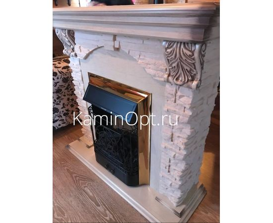 Камин RealFlame Dublin Lux WT с Majestic LUX BR S